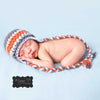 Sweet Steely Blue Beanie with Braids Baby and Toddler Boy Hat