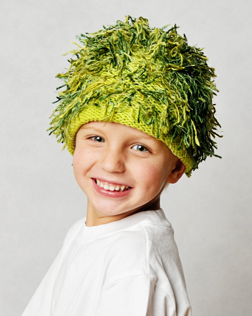 Zooni Hawaiian Grass Baby, Toddler and Kids Hat - FULLY LINED IN FLEECE