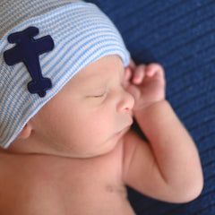 Adorable Airplane Newborn Boy Hospital Hat - Hospital Hat - Welcome Home Baby Hat icon