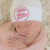 All Star Little Sister (or Little Brother) Newborn Girl Hospital Hat