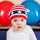 All American Boy and Girl Baby Hat