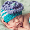 Lilac Bloom Baby Girl and Toddler Beanie