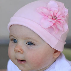 Baby Bella Rose Flower Beanie Newborn Baby Hat icon