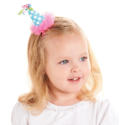 Happy Birthday Hair Clip for Baby and Toddler Girls