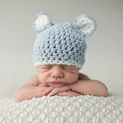 Baby Blue Sugar Bear with White Trim - Blue icon