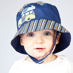 Navy Blue Woody Boys Baby Sun Hat icon