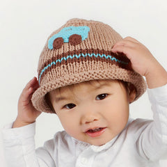 Cool Car Baby and Toddler Boy Knit Hat icon