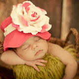 Coral Reef Baby Sun Hat