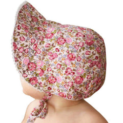 Rose Garden Vintage Bloom Baby Girl's Bonnet - Bonnet for Baby Girls and Toddler Girls icon