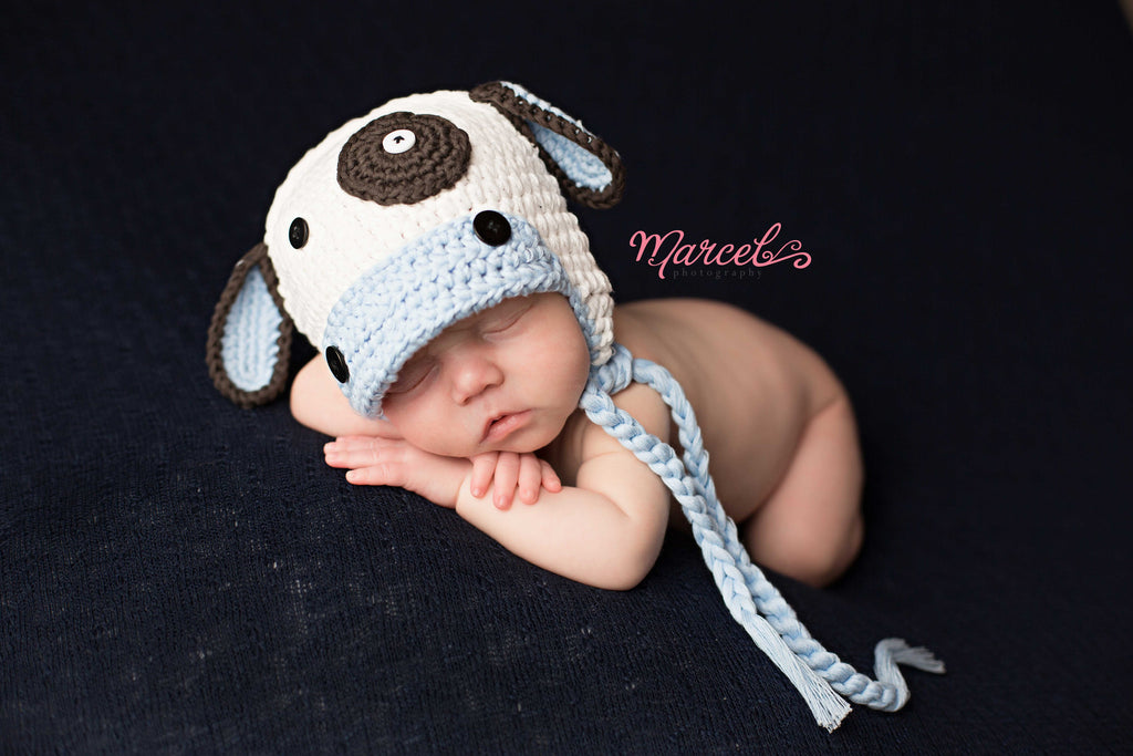 Moo Moo Cow Baby Boy Hat