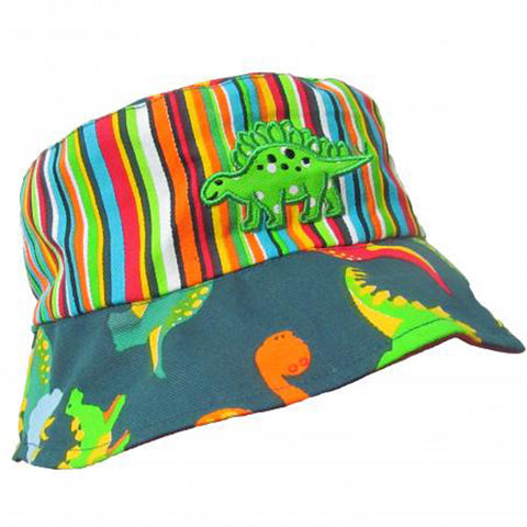 89d268534a2c3 ... Dino the Dinosaur Baby and Toddler Boy Sun Hat ...