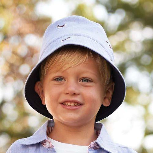 Boy's Best Friend Puppy Baby and Toddler Sun Hat