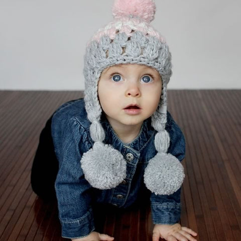 8eee5c775 Ear-Flap Lilly Baby Girl Hat