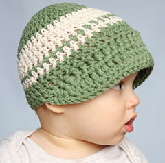 Sage Green Beanie Visor icon