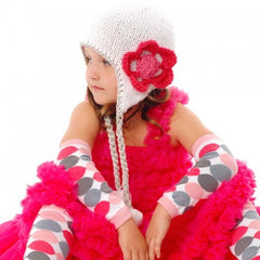 Cherries and Ice Baby Girl and Toddler Girl Hat icon