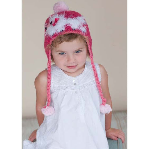 Pink Princess Pooch Baby Girl and Toddler Hat