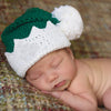 Baby Elf Green or Red Hat Christmas Hat - Personalization Optional