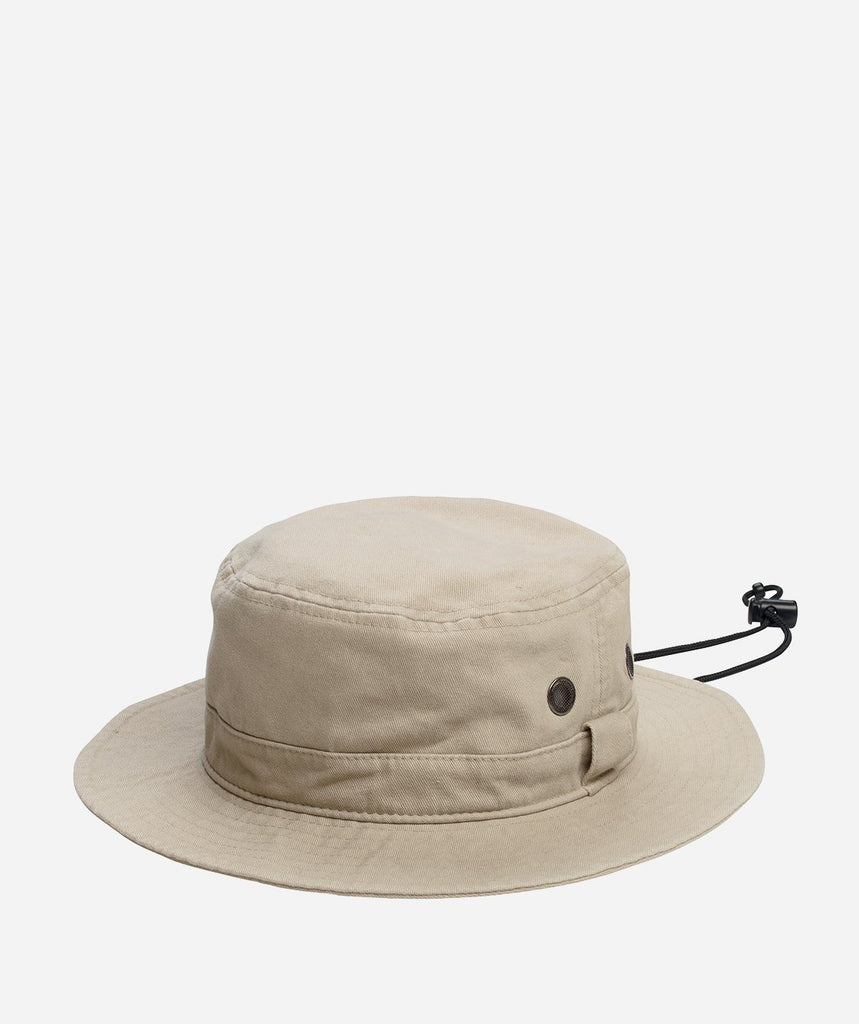 Super Soft Brushed Canvas Bucket Hat for Boys with Adjustable Chin Strap