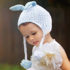 Bunny Boy Blue Baby Boy and Toddler Hat icon