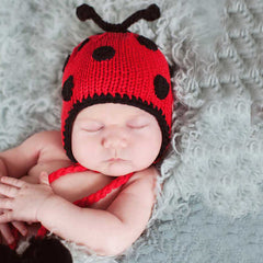 Little Ladybug Girl Beanie icon