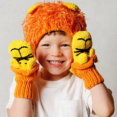 Zooni Roaring Lion Hat and Mittens SET - FULLY LINED FLEECE icon