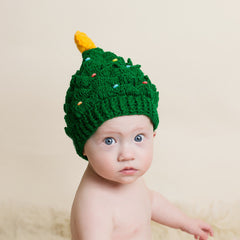 Oh Christmas Tree Baby Hat