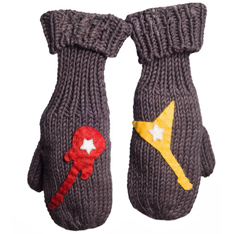 Zooni Dueling Guitars Baby Boy Mittens Toddler and Big Boys