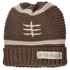 My First Season Knit Football Baby and Toddler Boy Hat icon