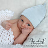 Baby Blue Organic Newborn Boy Hat