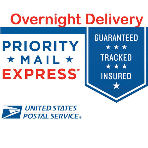 Overnight Express USPS Shipping