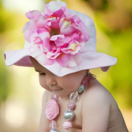 Princess Peony Baby and Toddler Girl Sun Hat