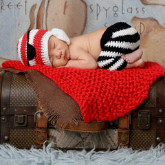 Arrr Matey Baby Pirate Hat and Pant Set for Newborn Boys icon