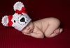 Pretty Polar Bear Newborn Girl Hat - Newborn Girls