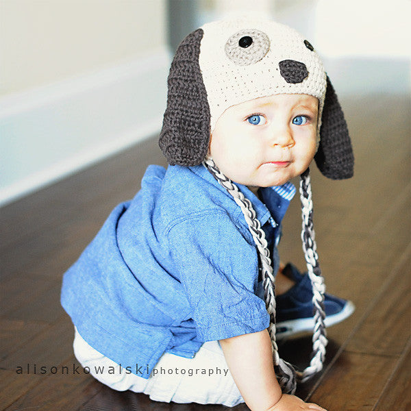 Puppy Love Baby Boy Baby Hat