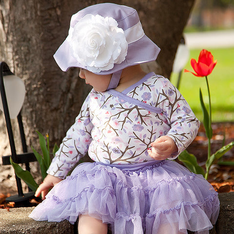 Periwinkle Princess Baby Girl Sun Hat