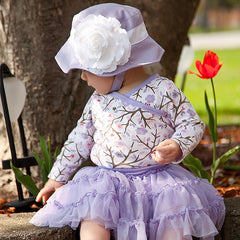 Periwinkle Princess Baby Girl Sun Hat icon