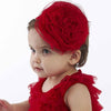 Redlicious Rosette Hard Headband for Baby Girl