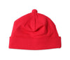 Solid Red GENDER NEUTRAL  Infant and Newborn Beanie