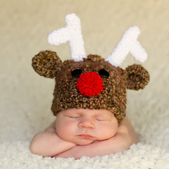 Ridiculously Cute Baby Reindeer Hat - For boy or girl icon