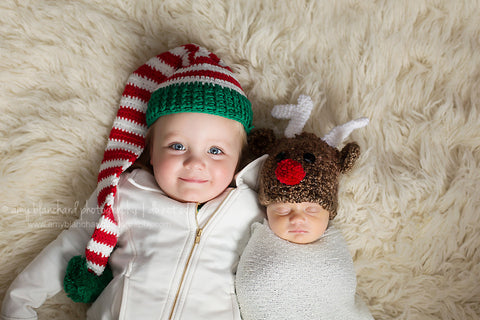... Ridiculously Cute Baby Reindeer Hat - For boy or girl ... ee1cf4a2bd9