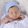 Solid Baby Blue Newborn Boy Hospital Hat