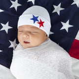American Stars Newborn Boy Hospital Hat