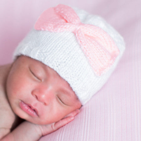 Sugar Bow Baby Knit Newborn Girl Hat