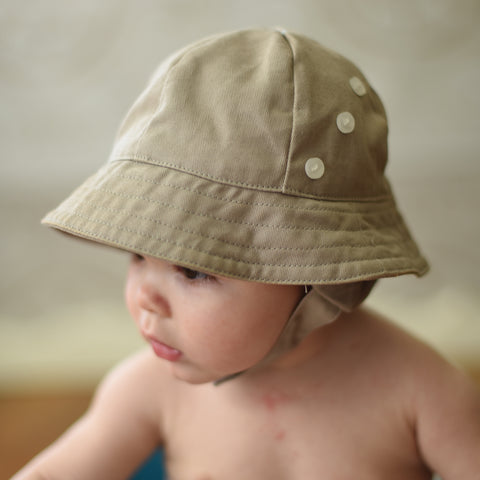 7b371c7b20e89d ... Sand Sunhat for Baby Boys and Toddler Boys - Option to Personalize ...