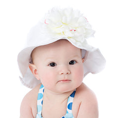 White Sands Peony Flower Sun Hat icon