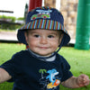 Navy Blue Woody Boys Baby Sun Hat