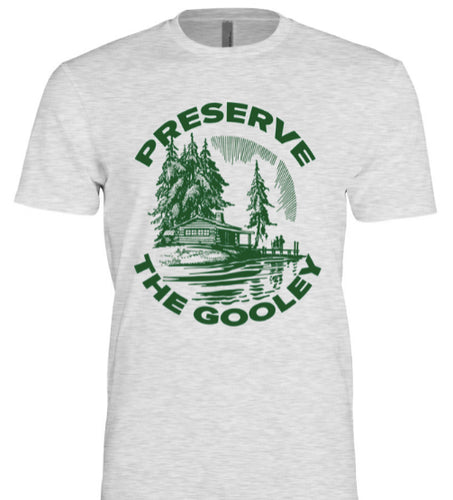Preserve The Gooley Tee: Vintage White