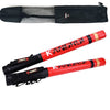 Pair of 60cm Black/Red Boxing Precision Training Sticks