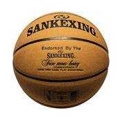 High Quality Genuine Leather Size 7 Basketball + Gas Needle