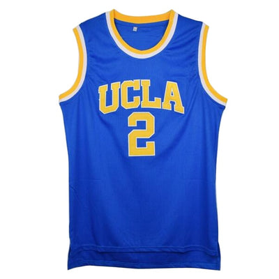 College Basketball Jerseys White/Blue Colors Throwback Breathable